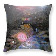Aphrodite In Orion's Nebula Throw Pillow