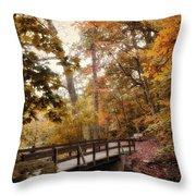 Autumn Awaits Throw Pillow