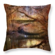 Autumn's End Throw Pillow