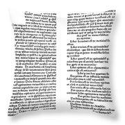 Avicenna (980-1037) Throw Pillow