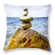 Balanced Throw Pillow