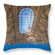 Bancroft Hall Throw Pillow