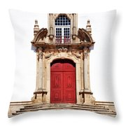 Baroque Portal Throw Pillow