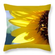 #allthehoney Throw Pillow