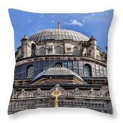 Beyazit Camii Mosque Throw Pillow