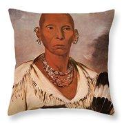 Black Hawk (1767-1838) Throw Pillow