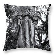 Bonaventure Cemetery Savannah Georgia Throw Pillow