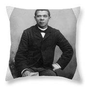 Booker T Throw Pillow