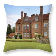 Breamore House Throw Pillow