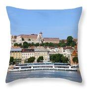 Budapest Cityscape Throw Pillow
