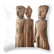 Buddha Figurine  Throw Pillow