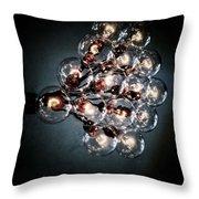 Bulbs Of Light Throw Pillow