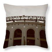 Busch Stadium - St. Louis Cardinals Throw Pillow