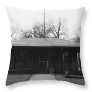 Cahokia Courthouse Throw Pillow