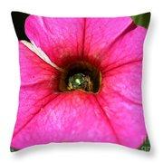 Calibrachoa Named Colorburst Rose Throw Pillow