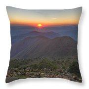 Gibraltar Countryside Throw Pillow