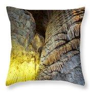 Carlsbad Cavern Throw Pillow