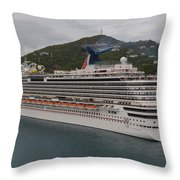 Carnival Dream Throw Pillow