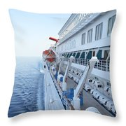 Carnival Elation Throw Pillow
