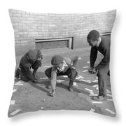 Chicago Marbles, 1941 Throw Pillow