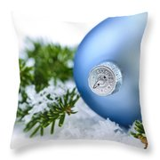 Christmas Ornament Throw Pillow