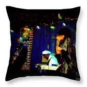 Chuck Berry At Blueberry Hill 12-11-13 Throw Pillow