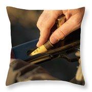 Chukar Hunting In Nevada Throw Pillow