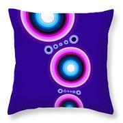 Circle Motif 125 Throw Pillow