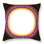 Circle Motif 139 Throw Pillow
