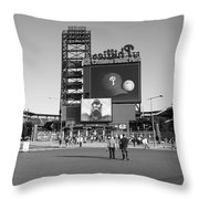 Citizens Bank Park - Philadelphia Phillies Throw Pillow