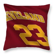 Cleveland Cavaliers Uniform Throw Pillow