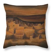 Cliff Palace Throw Pillow