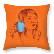 Commissioned Portraits Throw Pillow