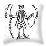 Continental Soldier Throw Pillow