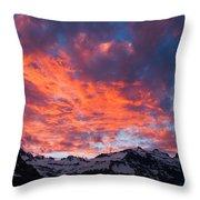 Cordon Granito Expedition, Chilean Throw Pillow