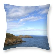 Cornwall - Rumps Point Throw Pillow