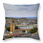 Cornwall - St Ives Throw Pillow