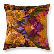 3 Creatures Of Change Throw Pillow