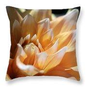 Dahlia Named Seattle Throw Pillow