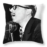 Dalton Trumbo (1905-1976) Throw Pillow
