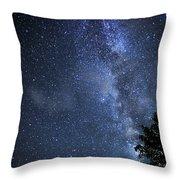 Dark Rift Of The Milky Way Throw Pillow