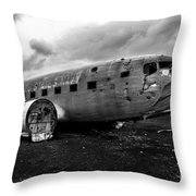 Dc-3 Iceland Throw Pillow
