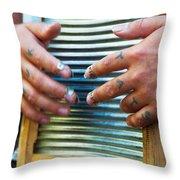 Knuk Tats - Denver Throw Pillow