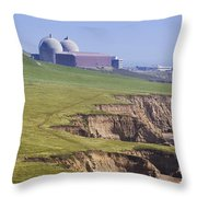 Diablo Canyon Nuclear Power Station Throw Pillow