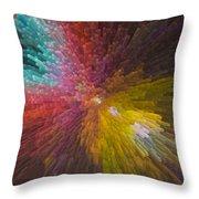 3 Dimensional Art Throw Pillow