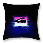 Distorted Dreams Throw Pillow