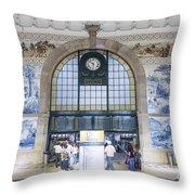 Dom Luis Bridge Porto Portugal Throw Pillow