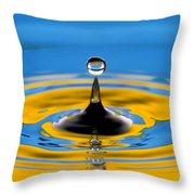 Drop Of Water Throw Pillow