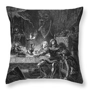 Edward (1330-1376) Throw Pillow