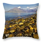 Elgol Throw Pillow